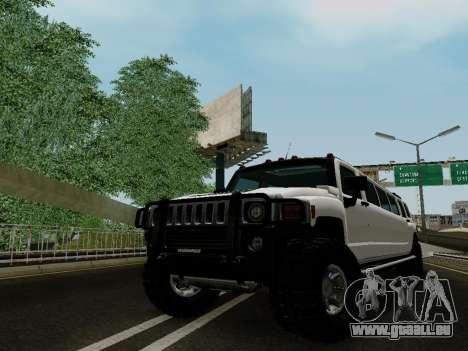 Hummer H3 Limousine pour GTA San Andreas