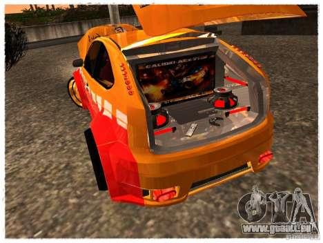 Ford Focus ST Calibri-Ace pour GTA San Andreas vue arrière