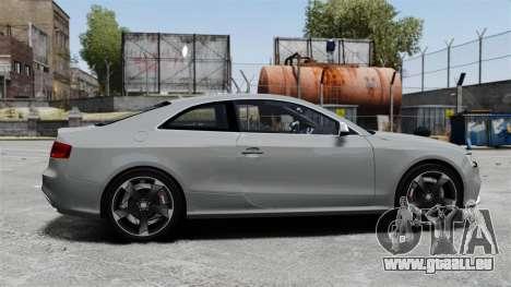 Audi RS5 2012 pour GTA 4 est une gauche