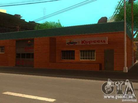 Village Stepanovo pour GTA San Andreas troisième écran