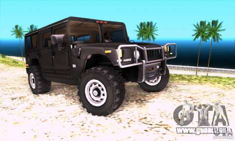 Hummer H1 für GTA San Andreas rechten Ansicht