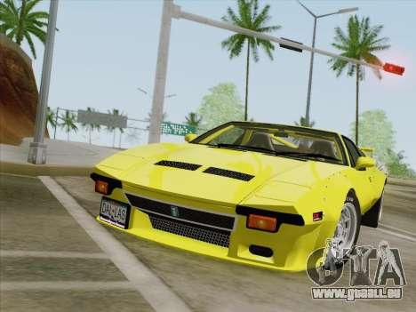 De Tomaso Pantera GT4 für GTA San Andreas linke Ansicht