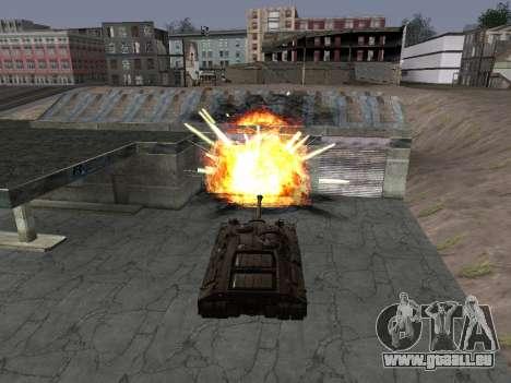 PT-SAU T95 pour GTA San Andreas laissé vue