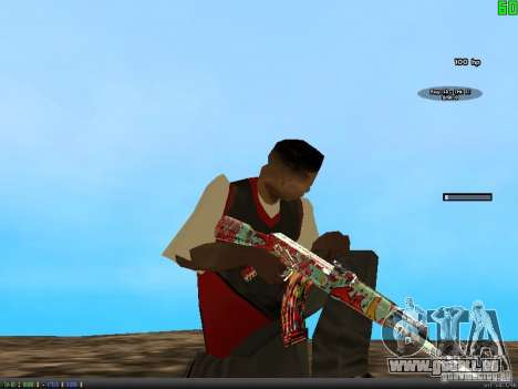 Graffiti Gun Pack pour GTA San Andreas quatrième écran