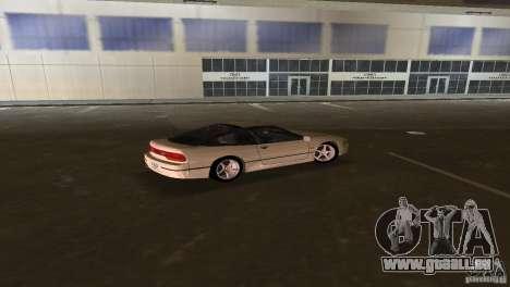 Nissan 200SX für GTA Vice City Rückansicht