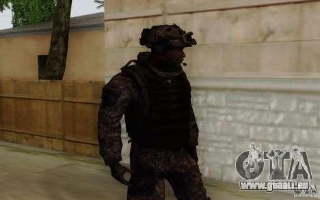 Le sergent Foley de CoD : MW2 pour GTA San Andreas deuxième écran