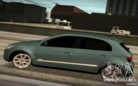 Volkswagen Golf G5 pour GTA San Andreas laissé vue