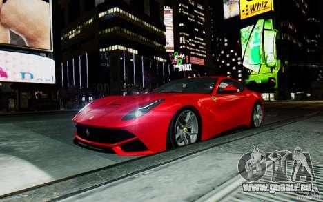 Ferrari F12 Berlinetta 2013 [EPM] für GTA 4 Rückansicht