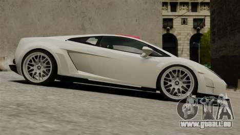 Lamborghini Gallardo Victory II 2010 HAMANN pour GTA 4 est une gauche