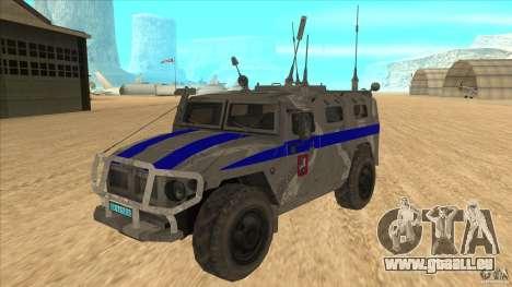 GAZ-23034 RID-1 Tiger pour GTA San Andreas