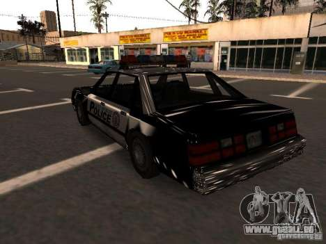 Police VC für GTA San Andreas zurück linke Ansicht