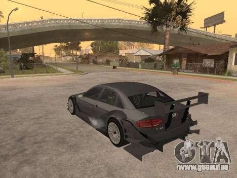 Audi A4 Touring pour GTA San Andreas sur la vue arrière gauche