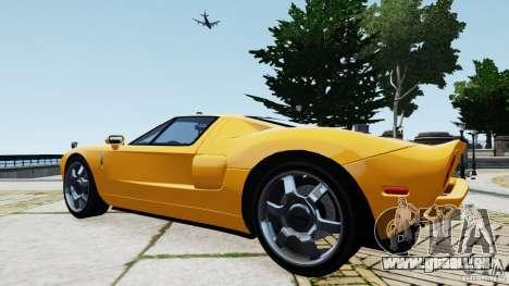 Ford GT 2005 v1.0 für GTA 4 rechte Ansicht