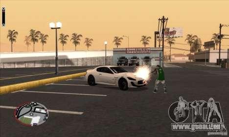 GodPlayer v1.0 for SAMP für GTA San Andreas fünften Screenshot