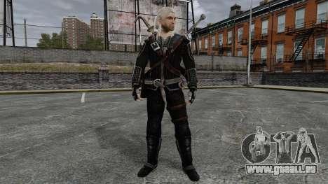 Geralt de Rivia v8 pour GTA 4