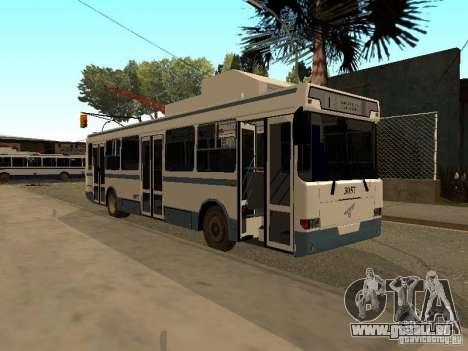 MTrZ-5279 für GTA San Andreas Rückansicht