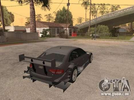 Audi A4 Touring pour GTA San Andreas vue arrière