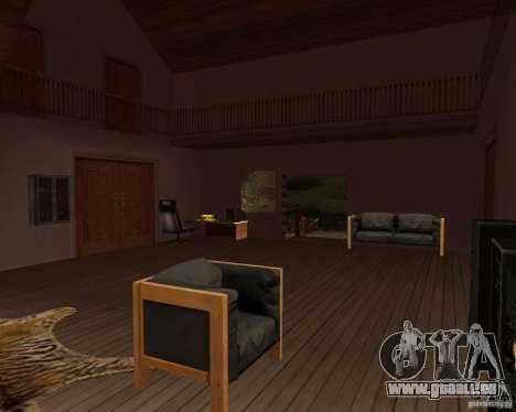 Villa in der Fischerei-Lagune für GTA San Andreas siebten Screenshot