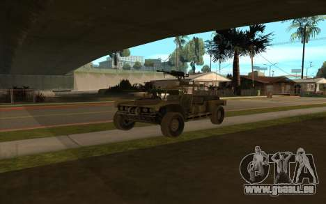 FAV-Buggy von Battlefield 2 für GTA San Andreas rechten Ansicht