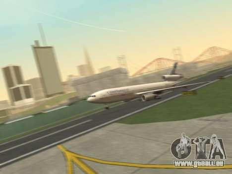 McDonell Douglas DC-10-30 Continental pour GTA San Andreas laissé vue