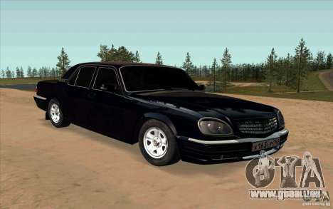 GAZ 31105 restylage pour GTA San Andreas
