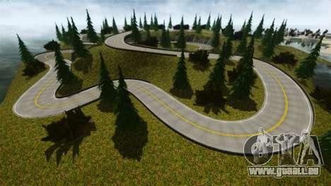 Edem Hill Drift Track für GTA 4 dritte Screenshot