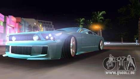 Ford Mustang 2005 GT pour une vue GTA Vice City de la droite