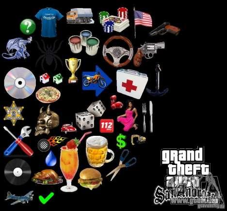 Nouveau HUD pour GTA San Andreas