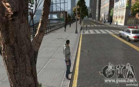Desmond Miles de AC3 pour GTA 4 troisième écran
