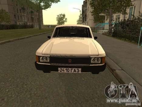 Volga GAZ 31013 pour GTA San Andreas laissé vue