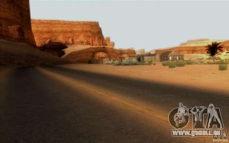 RoSA Project v1.0 pour GTA San Andreas quatrième écran