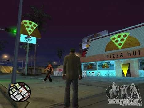 Nouveaux restaurants de textures pour GTA San Andreas septième écran