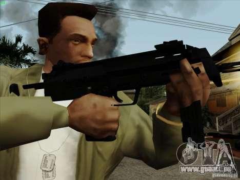 MP7 für GTA San Andreas