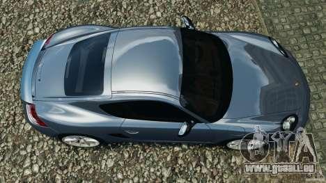 Porsche Cayman R 2012 pour GTA 4 est un droit