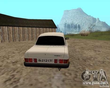 GAZ 31029 für GTA San Andreas rechten Ansicht
