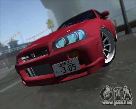 Nissan Skyline BNR34 GT-R pour GTA San Andreas