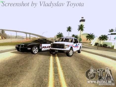 Ford F-150 Road Sheriff pour GTA San Andreas vue intérieure