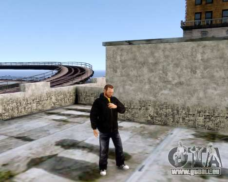 Veste Jacket pour GTA 4 secondes d'écran