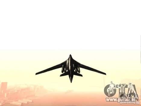 Tu 160 Black Jack für GTA San Andreas