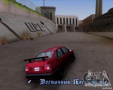 Fiat Tempra 1998 Tuning für GTA San Andreas Seitenansicht