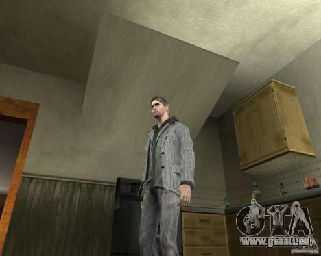 Alan Wake pour GTA San Andreas deuxième écran