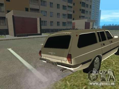 Volga GAZ-24 12 pour GTA San Andreas vue de droite