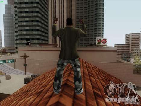 Gentleman Dance Animation für GTA San Andreas her Screenshot