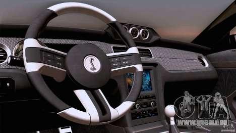 Ford Shelby GT500 Super Snake pour GTA San Andreas vue de côté