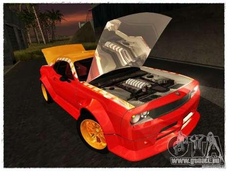 Dodge Challenger Calibri-Ace pour GTA San Andreas vue de droite