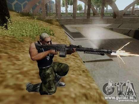 La mitrailleuse MG-42 pour GTA San Andreas deuxième écran