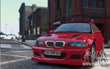 BMW M3 E46 Street Version pour GTA 4