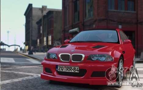 BMW M3 E46 Street Version pour GTA 4