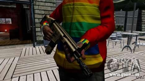 SCAR-L für GTA 4 weiter Screenshot