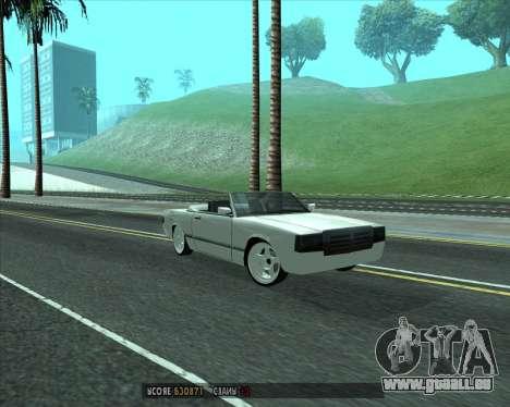 Feltzer v1.0 pour GTA San Andreas laissé vue